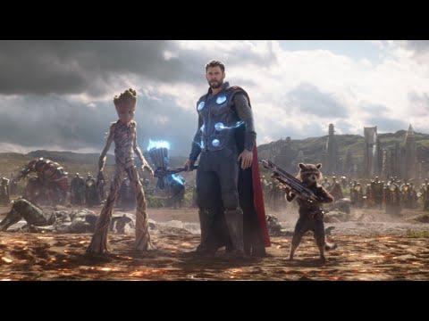 토르 등장 장면 | 어벤져스: 인피니티 워 (Avengers: Infinity War, 2018)