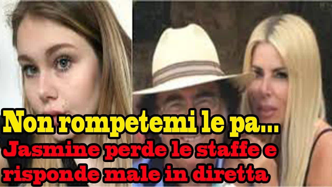 La Boomba! Non rompetemi le pa...: Jasmine Carrisi perde le staffe e risponde male in diretta