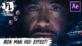 Iron Man HUD After Effects Tutorial! | Film Learnin