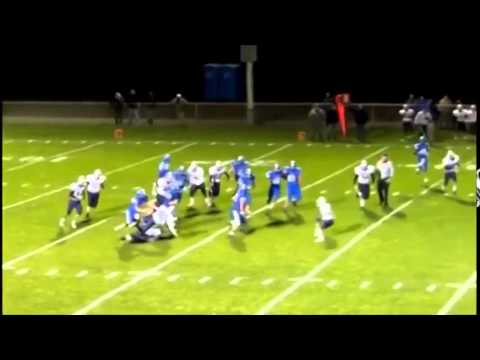 #34 Alec Monahan Senior Highlights - East Dubuque High School Football
