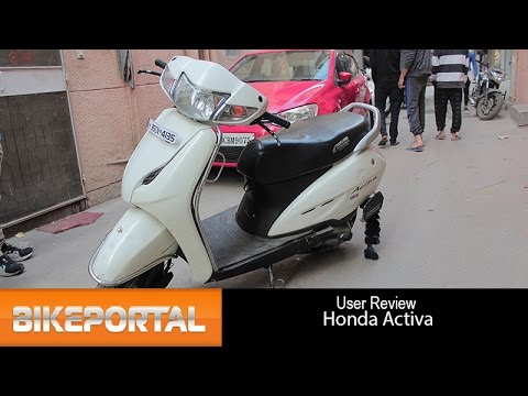 Honda Activa User Review - 'great handling' - Bikeportal