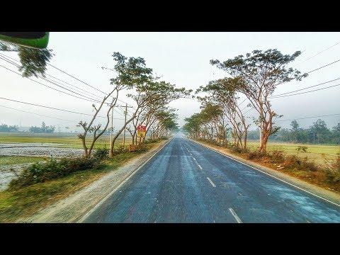 Tour in Green Line Volvo to Sylhet | Dhaka - Sylhet Highway| N2| Bangladesh| Travel Experiences|