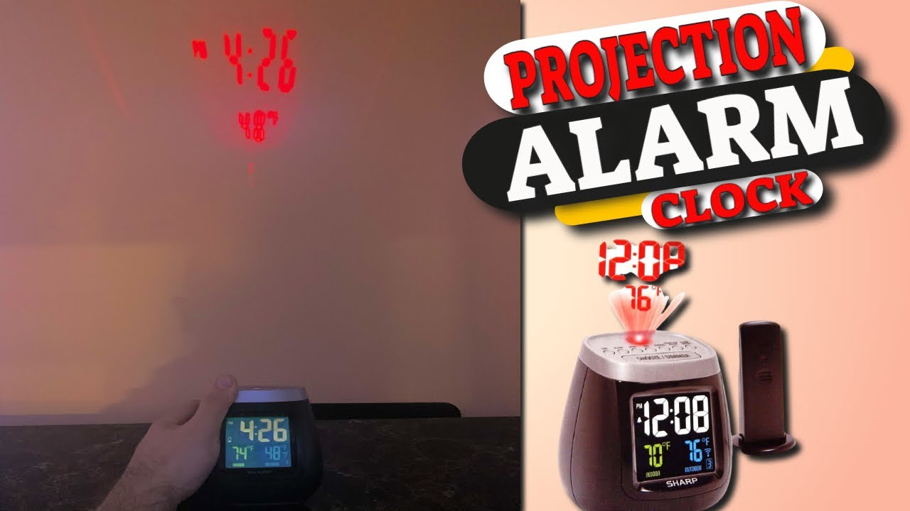 Projection Alarm Clock Review and Unboxing
