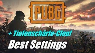 Beste Sichtbarkeit & maxFPS! Die besten Grafiksettings für PUBG + Tiefenschärfe-Clou!