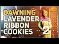 How to make Lavender Ribbon Cookies Destiny 2
