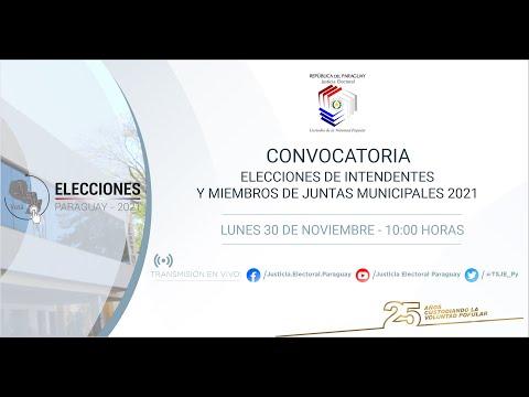 Paraguay: Partidos se preparan para los comicios municipales de  octubre