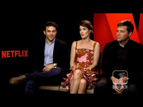 Netflix Friends From College | Cobie Smulders, Fred Savage and Nick Stoller Interview