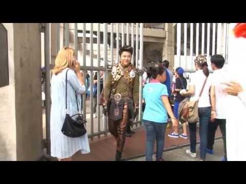 ตะลุยกองถ่าย - เบื้องหลังงานบอลช่อง 3 ความสุขบุกโลก (ตอน1) 06/05/58