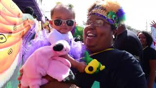 Zulu rolls and marvels on Mardi Gras 2018