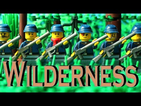 Lego American Civil War - Wilderness (stop motion)