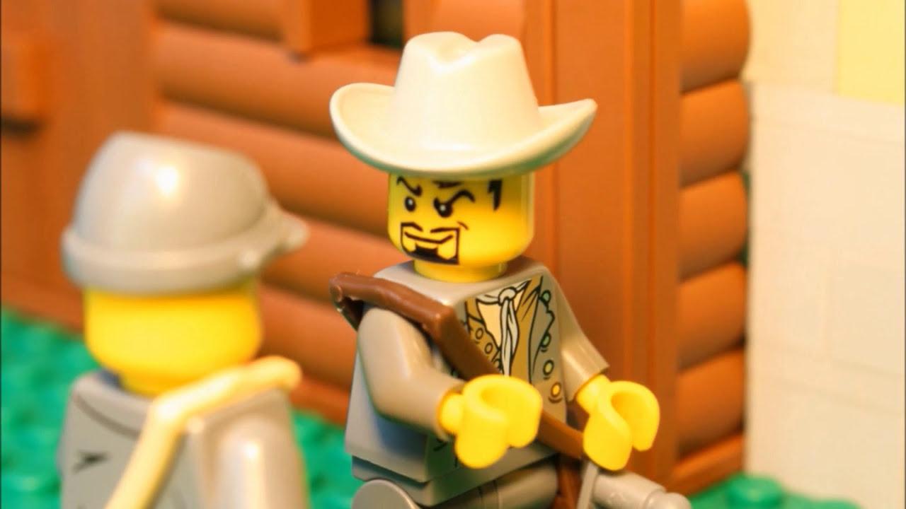 Lego American Civil War - Wilderness (stop motion)