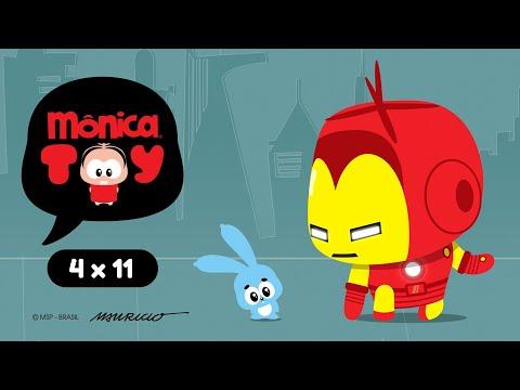 Mônica Toy | Hominho De Ferro (T04E11)