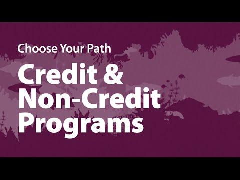 Carroll Community College   Credit & Non-Credit Programs