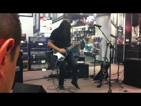 Eric Petersons's Workshop at Guitar Center in SF