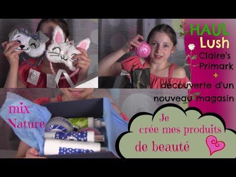 Je crée mes produits de beauté + haul beauté, accessoires