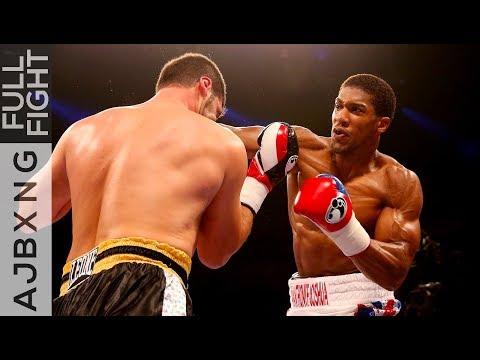 Full Fight | AJ Vs Emanuele Leo TKO