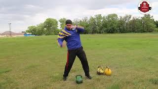 Комплекс упражнений с гирями! #fitnesspark_baikau #гиревой спорт #физрук