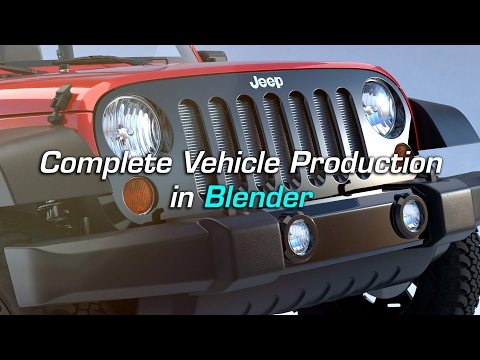 Official Trailer | Complete Vehicle Production in Blender