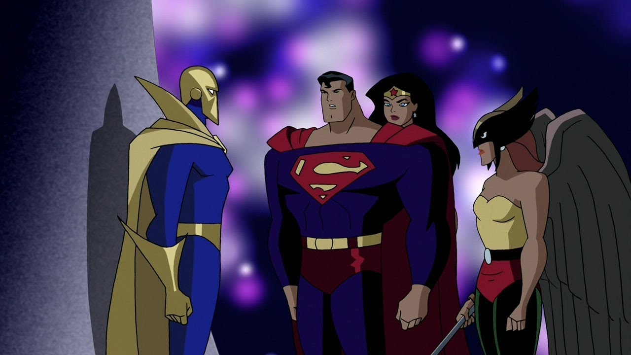 Justice league unlimited the terror beyond