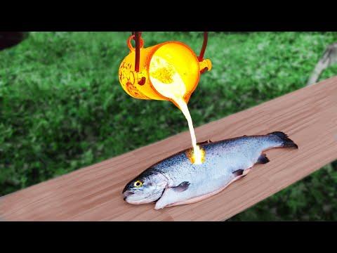 EXPERIMENT: FISH Vs LAVA