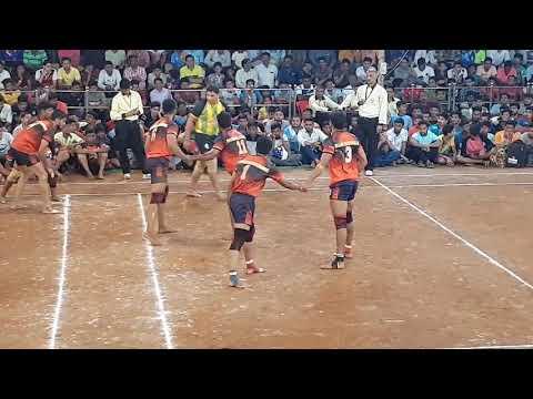 ANKUR(mumbai)vs OM(kalyan)shramik gym khana kabaddi match 2018..part 2