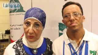 بالفيديو:احدى امهات ابطال متلازمة الداون سيندروم: فخورة بابنى جدا