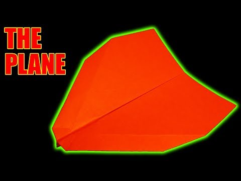 How To Make an AMAZING PAPER GLIDER - BEST PAPER AIRPLANES 2018 Easy that fly far [The Plane]