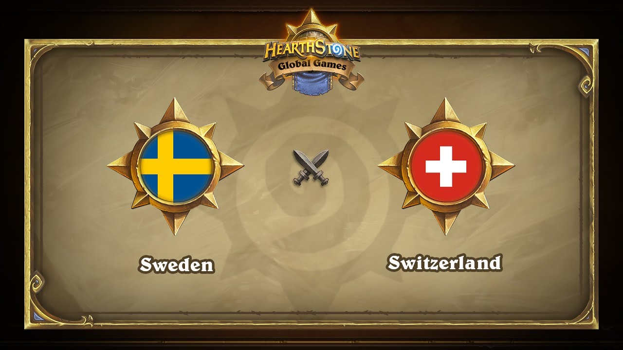 Швеция vs Швейцария | Sweden vs Switzerland | Hearthstone Global Games (07.06.2017)
