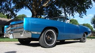 For Sale 1969 Ford Galaxie XL 429 Convertible! Solid Investment Grade Vehicle!