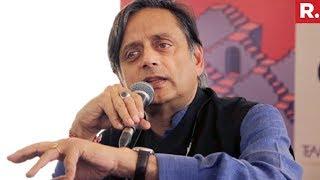 Shashi Tharoor Backs 'Hindu Taliban' Comment