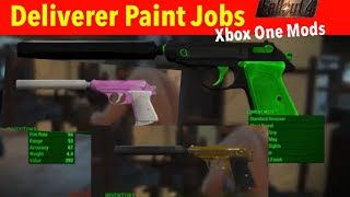 Fallout 4 Xbox One/PC Mods|Deliverer Paint Jobs