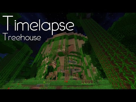 Minecraft Creative Timelapse - Jungle Treehouse