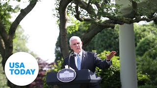 Vice President Pence holds coronavirus task force briefing | USA TODAY|USA TODAY