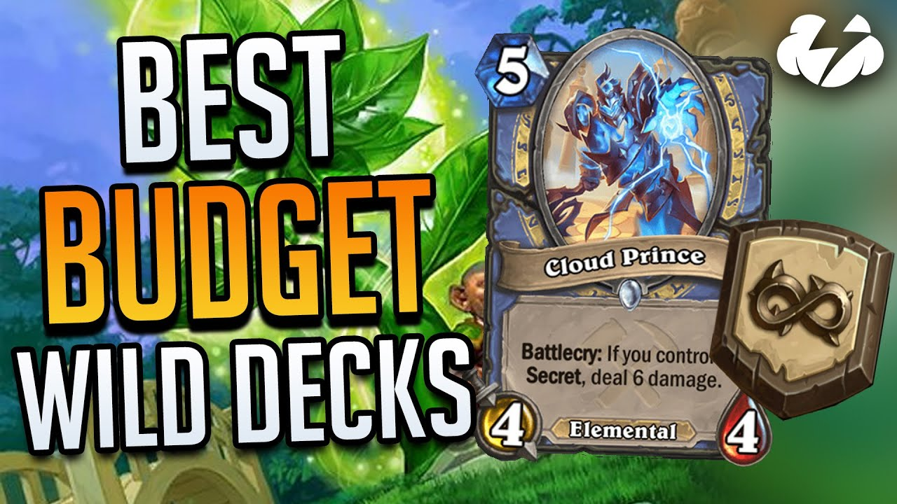 BEST BUDGET WILD DECKS | Tempo Strategy Hearthstone [Ashes of Outland]