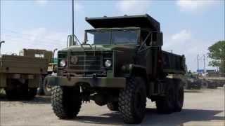 M929A1 6x6 5 Ton Military Dump Truck AM General