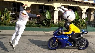 CRAZY STREET BIKE STUNTS *GONE WRONG*