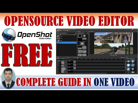 OPENSHOT VIDEO EDITING SOFTWARE TUTORIAL I FREE I OPENSOURCE I LIFETIME FREE I VIDEO EDITOR