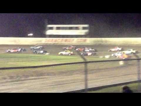 34 raceway 8-1-15 stock car feature pt2