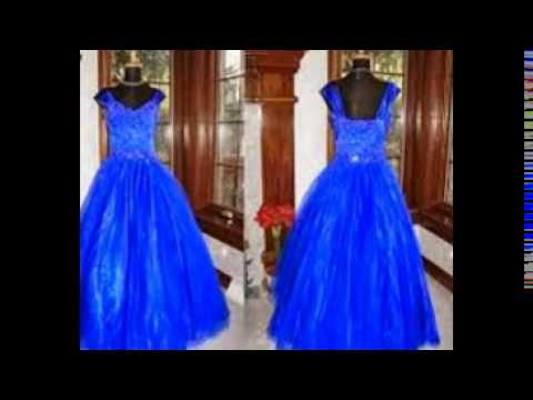 1c793e242fe royal blue flower girl dress - YouTube