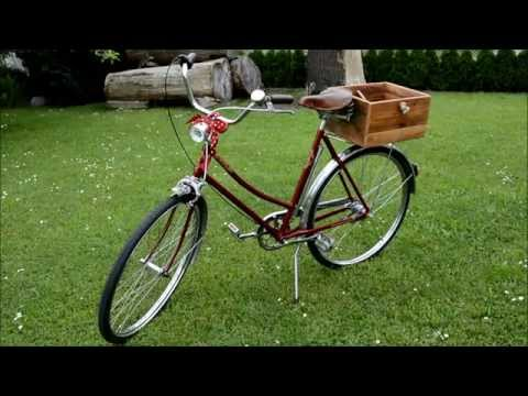 Musical restoration of a vintage bicycle  / Hudební renovace kola