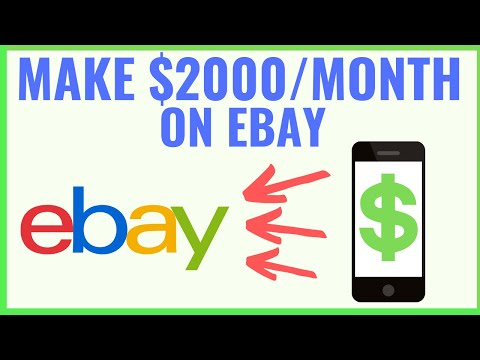 How To Make Money On Ebay ($2,000/Month Strategy)