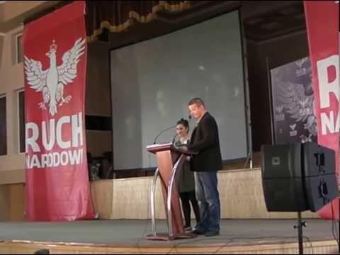 Toroczkai László beszéde a lengyel Nemzeti Mozgalom (Ruch Narodowy) alakuló kongresszusán
