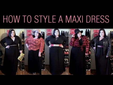 Plus Size Look Book: How To Style A Maxi Dress