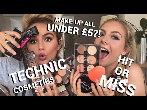 FULL FACE FIRST IMPRESSIONS & REVIEW | TECHNIC COSMETICS | SYD AND ELL