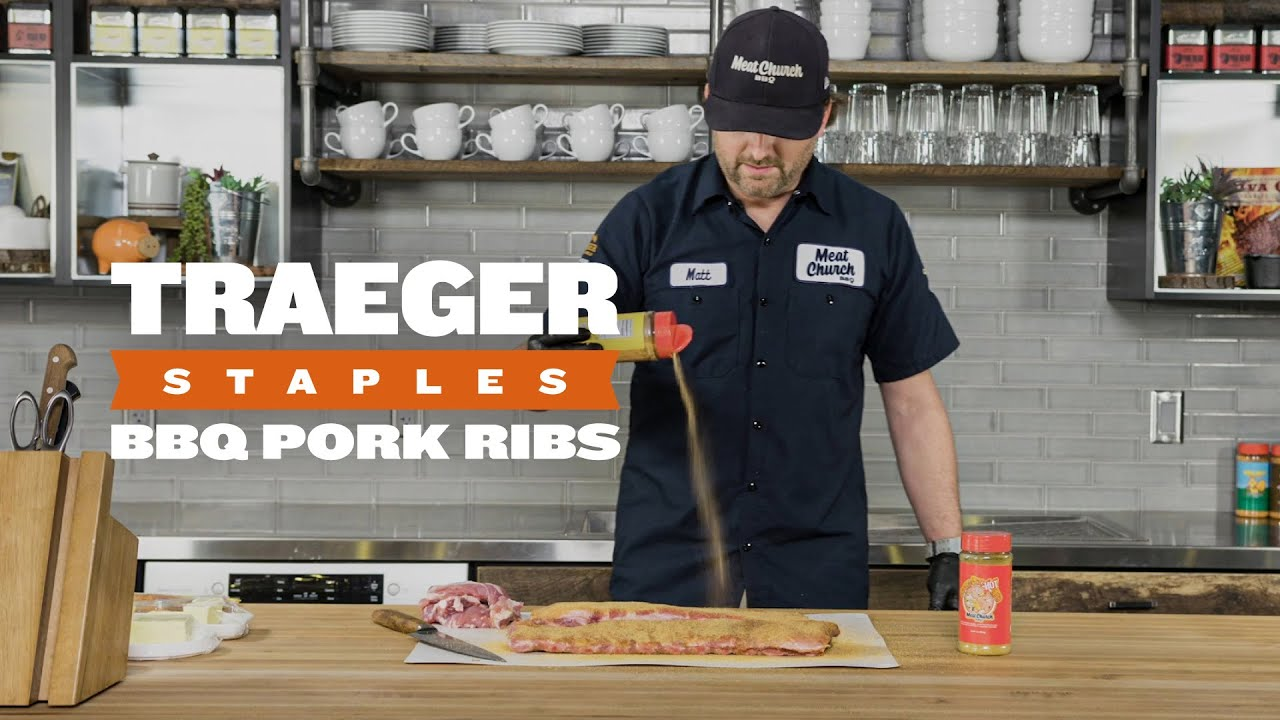 How to Cook BBQ Pork Ribs | Traeger Staples thumbnail