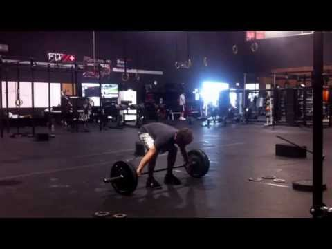 Training 7.28.2015 - back squat, hang snatch from blocks, snatch