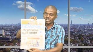 MAGAZETI MEI 26: RAIS Mstaafu wa Botswana Aenda  Upinzani!