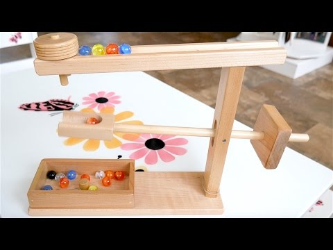 Watch the Magic of this Amish Made Marble Toy
