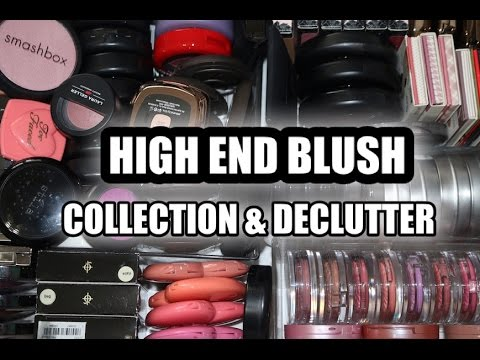 HIGH END BLUSH COLLECTION / DECLUTTER