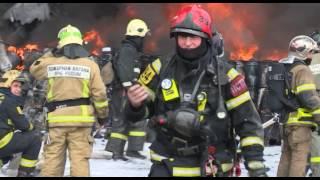 Ликвидация пожара в н.п. Шишкин Лес г. Москвы